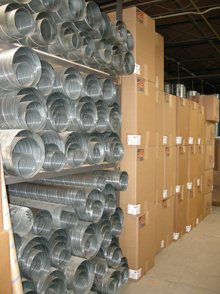 Residential round pipe